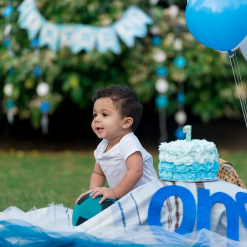 Azlan's First Birthday