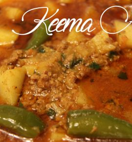 Delicious Keema Alu | Ground Meat With Potatoes |