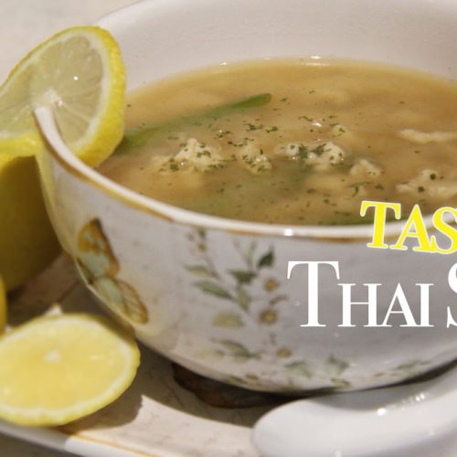 Delicious and Quick Thai Soup