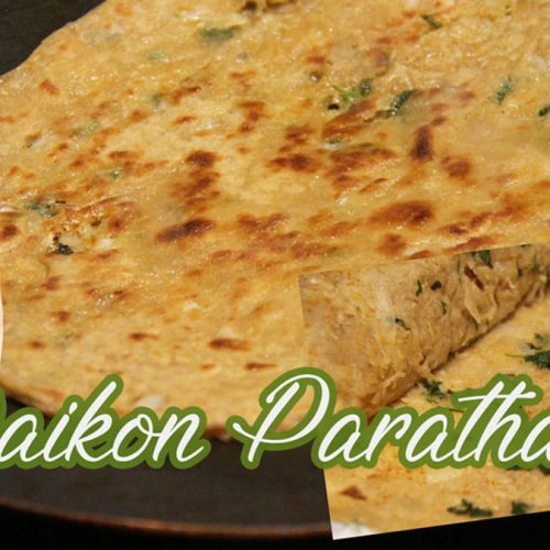 Mooli Paratha | Tortilla With Stuffed Daikon Radish |