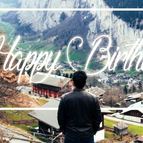 Something Just Like This | Happy Birthday Hubby