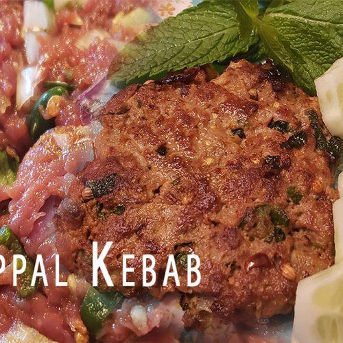 Chappal/Chapli Kebab | Quick & Delicious Recipe